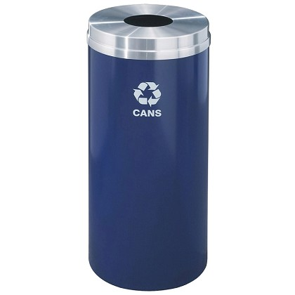 Glaro 12 Gallon Single Purpose Recycling Container