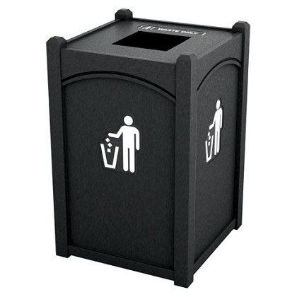Dorset Topload Single Recycling Container