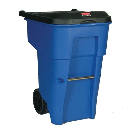 95 Gallon BRUTE Rollout Recycling Container