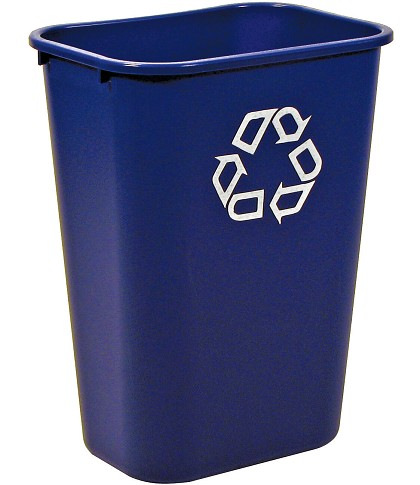 Rubbermaid Large Deskside Recycling Container
