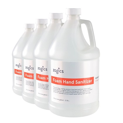Citrus + Aloe Alcohol-Free Foam Sanitizer | 4 Gallons/Case